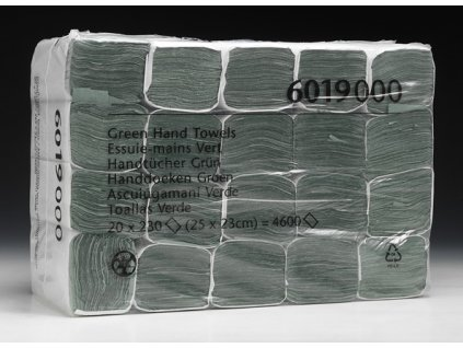 KIMBERLY CLARK jednovrstvé zelené ručníky