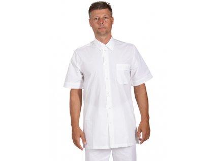 2350 Košile pánská bílá FILIP (Velikost 48)