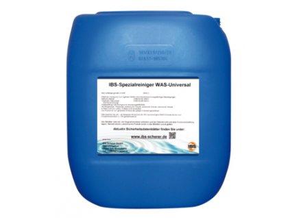 WAS Universal - vodou ředitelná čisticí kapalina, vhodná do mycích automatů