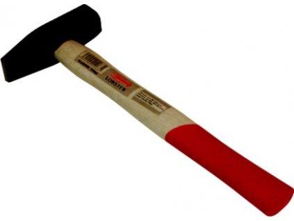 Kladivo s dřevěnou rukojetí - 1000g