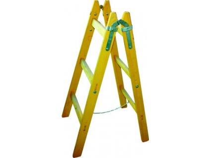 Štafle dřevěné - 9 příček/282cm
