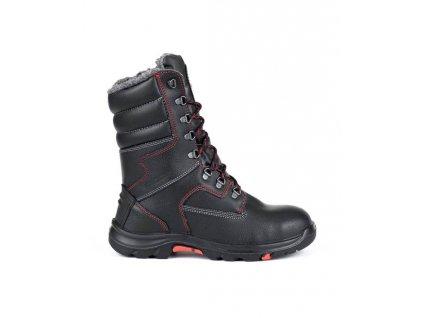 Poloholeňová koženná obuv HIBERNUS S3