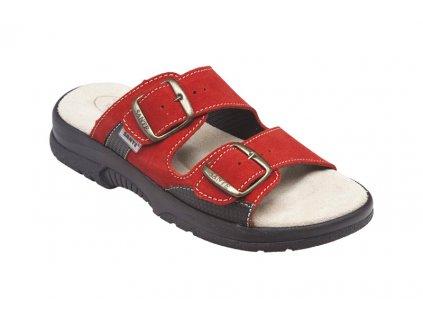 Santé N/517/33/38/CP Dámský pantofel červená (Velikost 42)