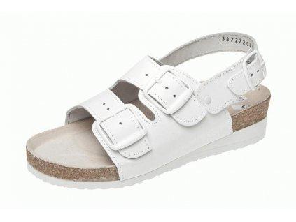 REGA zdravotní sandál vyšší s pásky