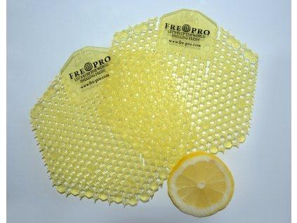 FRE PRO sítko oboustranné WAWE 3D do pisoáru vůně citron