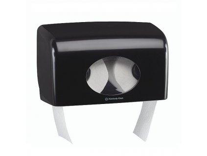 AQUARIUS* Dávkovač toaletního papíru - malá role černý