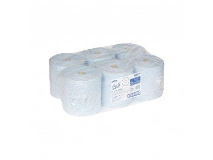 Kimberly Clark 6688 SCOTT XL ručníky v roli modré