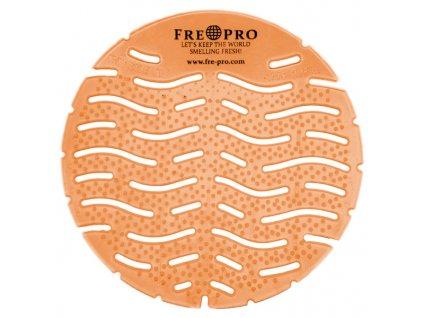 Fre Pro mřížka, vonné sítko do pisoáru Wave Mango, oranžové