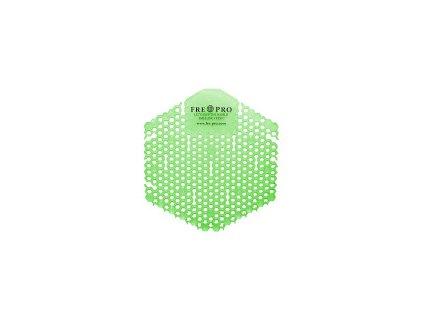 Fre Pro mřížka, vonné sítko do pisoáru Wave 3D Cucumber Melon, zelené - 2ks balení