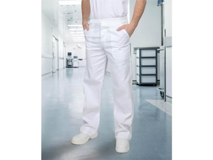 Kalhoty pánské SANDER bílé