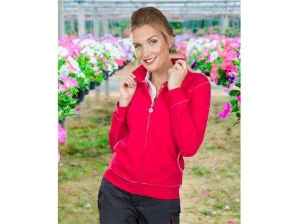 Mikina FLORET dámská, růžová
