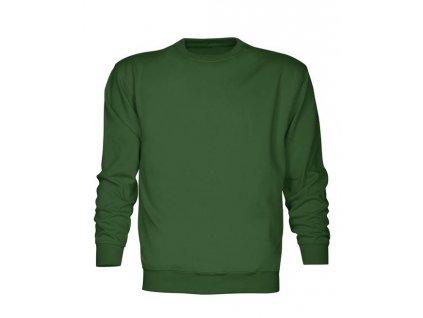 Mikina DONA zelená, 300g/m2