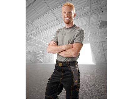 Ardon Vision 02 kalhoty do pasu černo šedé