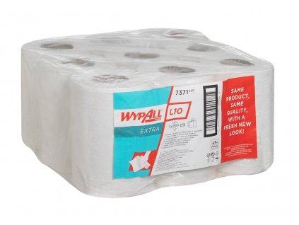 Kimberly Clark Wypall L10 Extra bílé utěrky v roli s centrálním odvinem, 7371