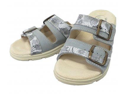 Santé DM 125 33 18R SP Dámský pantofel šedá
