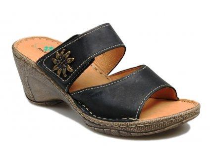 damska obuv n 309 2 60 cerna