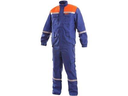 Canis Oděv CXS ENERGETIK MULTI 9043 II, modro - oranžový
