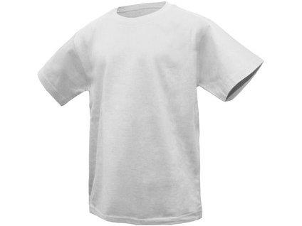Canis Dětské tričko s krátkým rukávem DENNY, bílé
