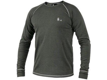 Canis Pánské funkční tričko ACTIVE, dl. rukáv, šedé