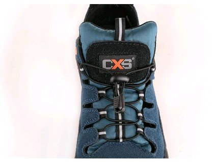 Canis Obuv sandál CXS LAND CABRERA S1, ocel.šp., černo-modrá