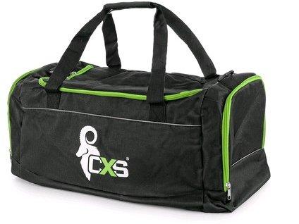 Canis Sportovní taška CXS, černo - zelená, 60 x 30 x 30 cm