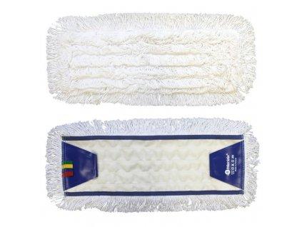 Merida Mop plochý uzlíčkový se záložkami OPTIMUM, bavlan, 50 cm