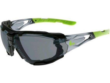 Canis Brýle CXS-OPSIS TIEVA, kouřový zorník, černo - zelené