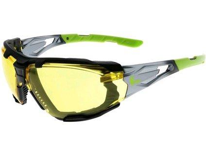 Canis Brýle CXS-OPSIS TIEVA, žlutý zorník, černo - zelené