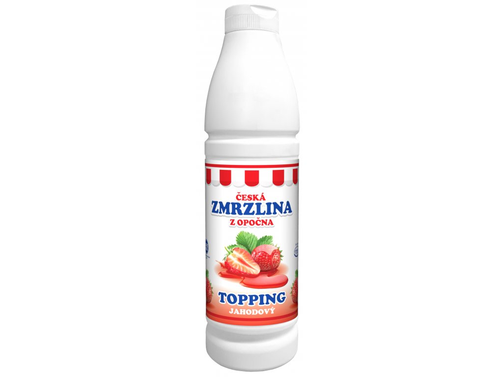 TOPPING jahoda 3D
