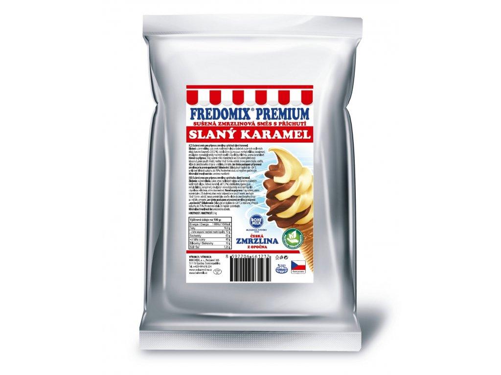 slaný karamel 3D