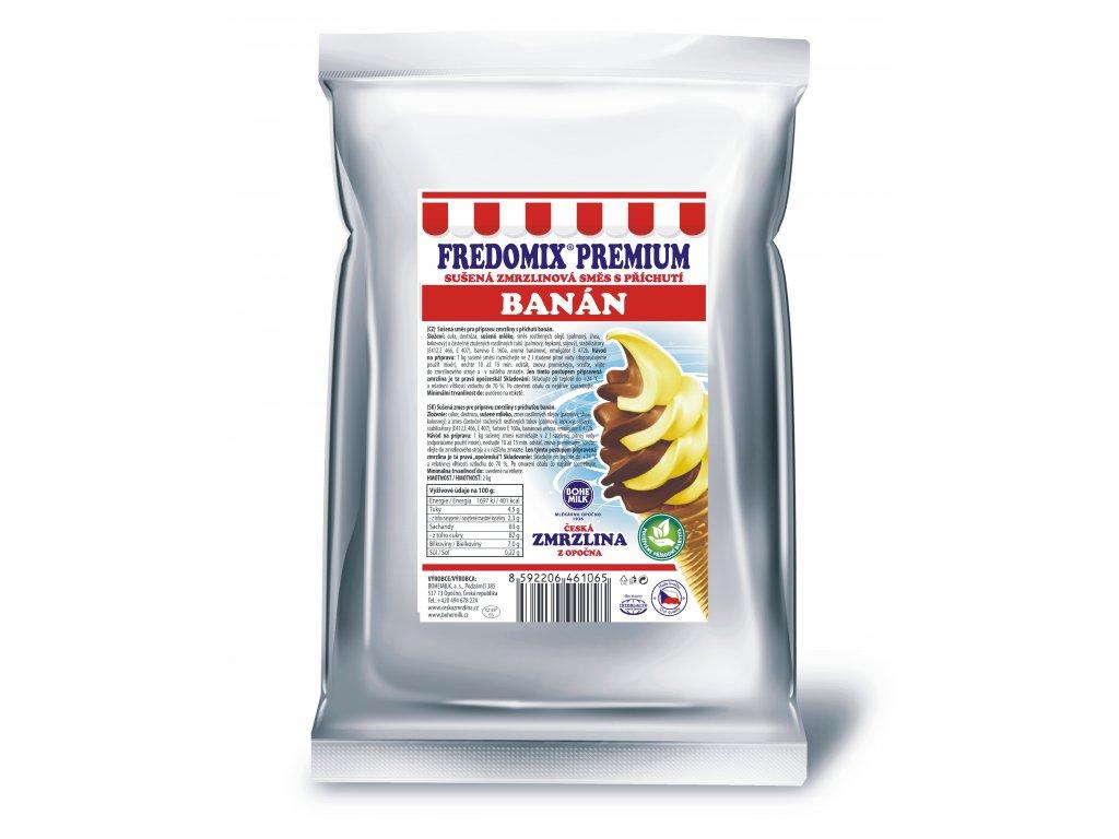Fredomix Premium Banán, 2 kg