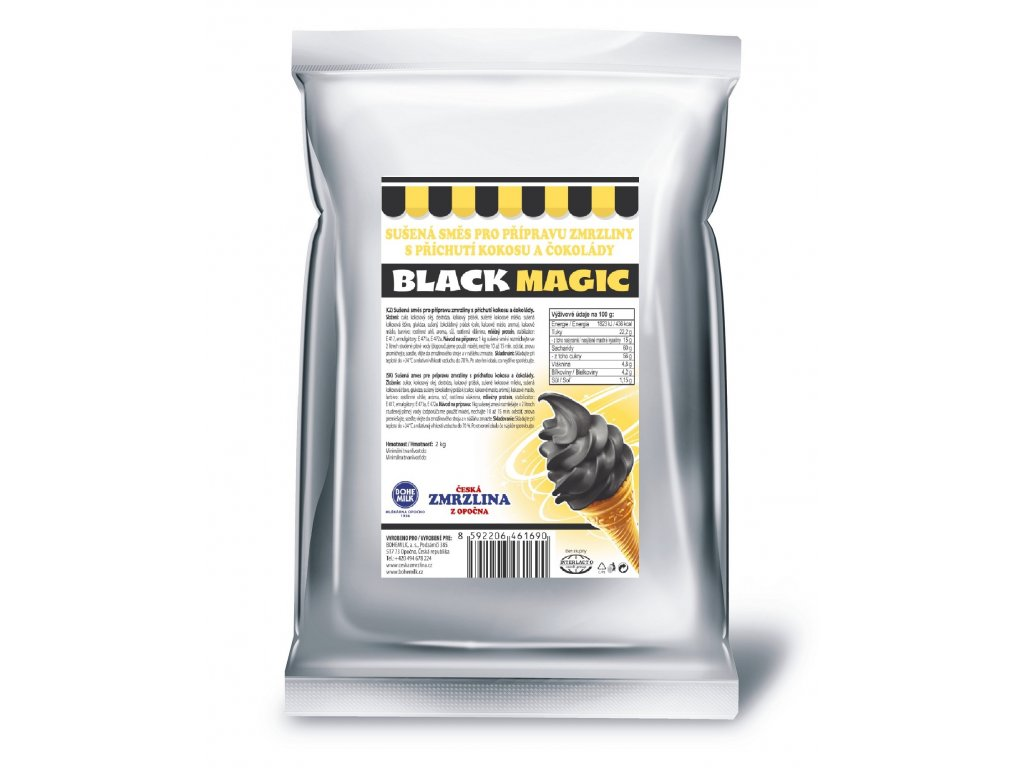 01C Bohemilk Magic Black A4 tisk 1