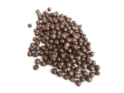 čokoládové kuličky tmavé
