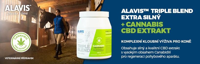 Alavis Triple Blend Extra Silný Cannabis CBD Extratkt 700 g