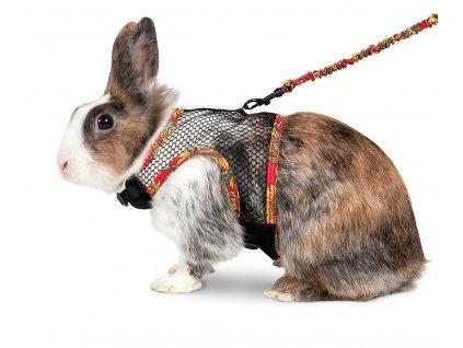 Karlie Postroj s vodítkem pro králíky velikost L