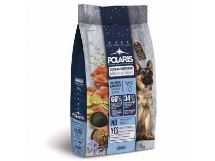 Polaris Dog Adult Německý ovčák losos & krůta 12 kg