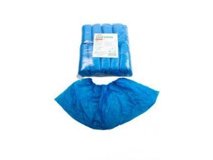 Návlek na obuv PE nízký guma modrý IMMUNITY 100ks