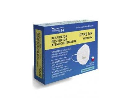 Respirátor FFP2 s ventilem Premium 6ks