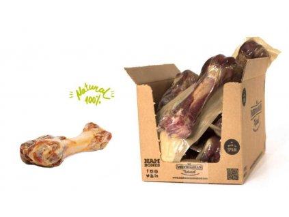 Serrano Half Ham Bone - poloviční šunková kost pro střední a velká plemena přibližně 230 g