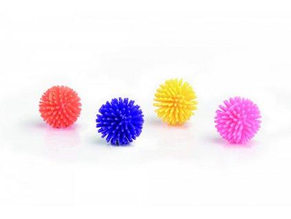 Beeztees Hračka pro kočky barevné míčky 4ks