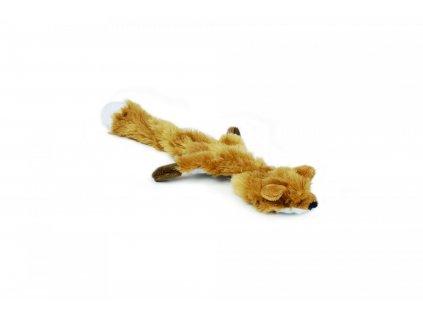 Beeztees Hračka pro psy Flatino plyš liška pískací 30cm