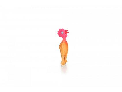 Beeztees Hračka pro psy latexové kuře pískací 15cm
