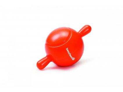 Beeztees Balon TPR aportovací  oranžový 21,5cm