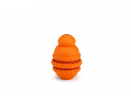 Beeztees Hračka Sumo Play Dental S oranžový 6X6X8,5cm
