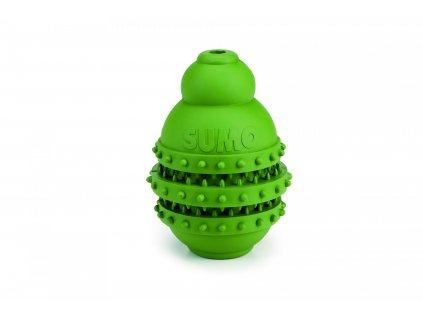 Beeztees Hračka Sumo Play Dental M zelený 9X9X12cm