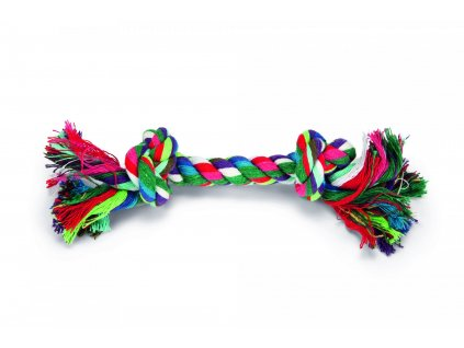 Beeztees Hračka bavlněné lano BONE 20cm