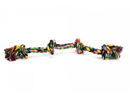 Beeztees Hračka bavlněné lano BONE 60cm