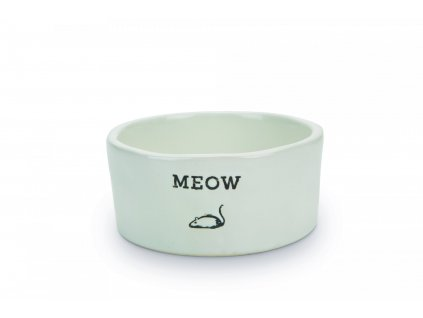 Beeztees Miska pro kočky MEOW 11,5x4cm