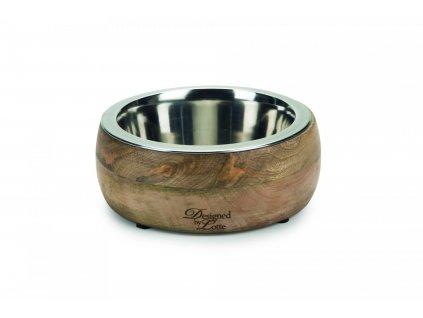 Designed by Lotte Miska pro psy MANDIRA dřevěná 16,5cm