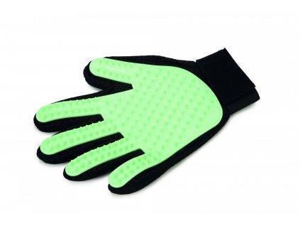 Beeztees Vyčesávací rukavice pro psy MINT 25x18cm